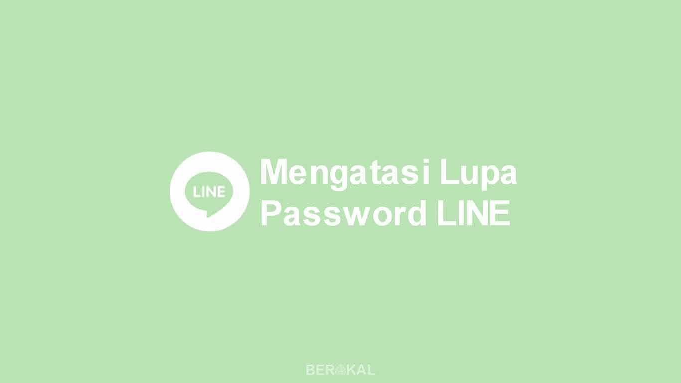 Lupa Password LINE