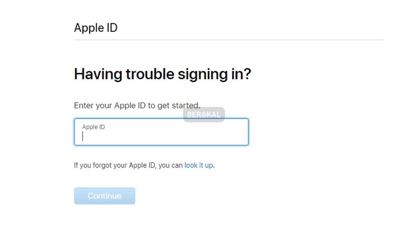 cara membuka icloud yang lupa password dan email