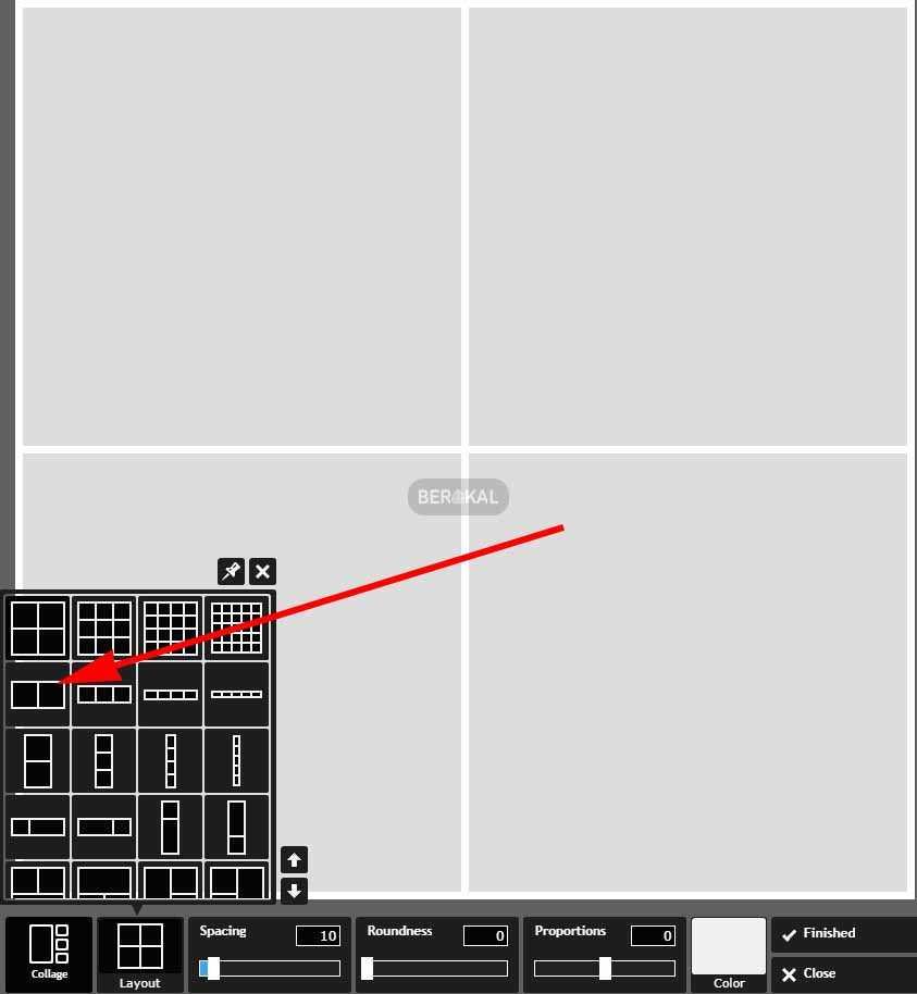 cara menggabungkan foto di pixlr