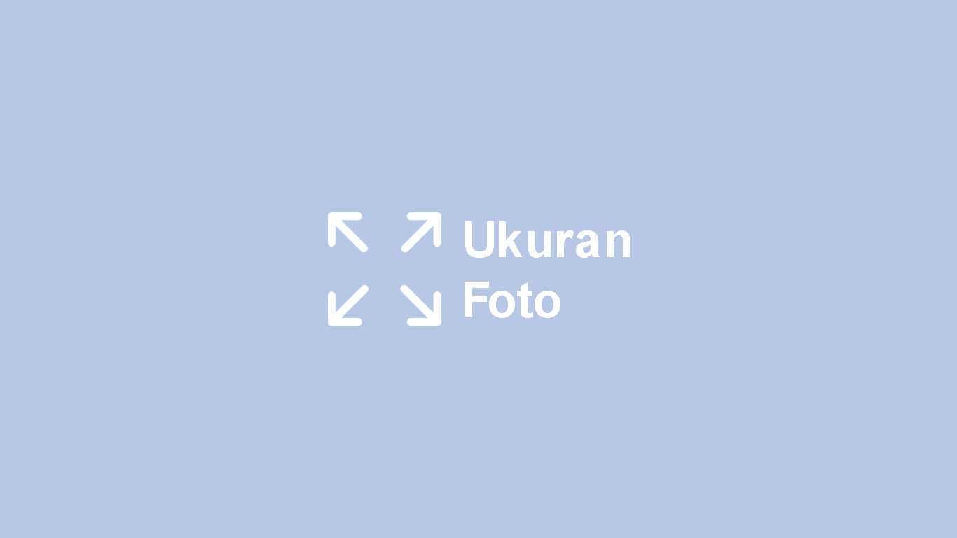 Ukuran Foto