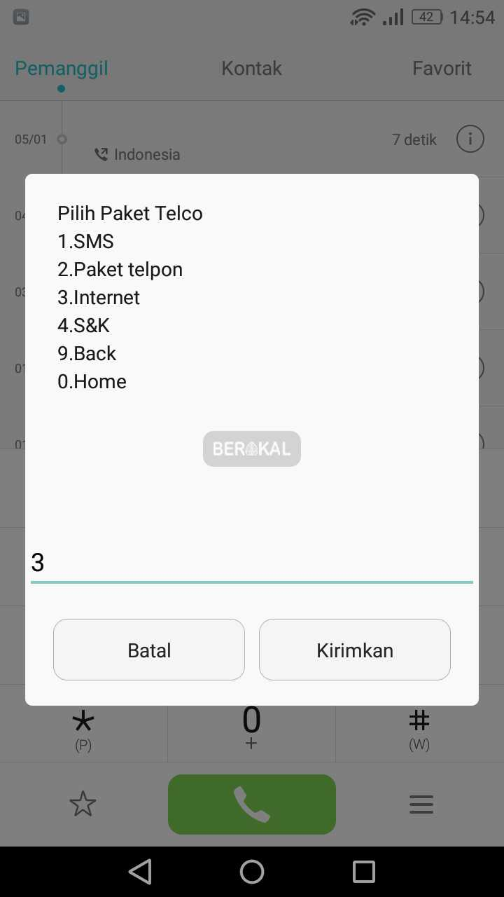 pilih paket telco