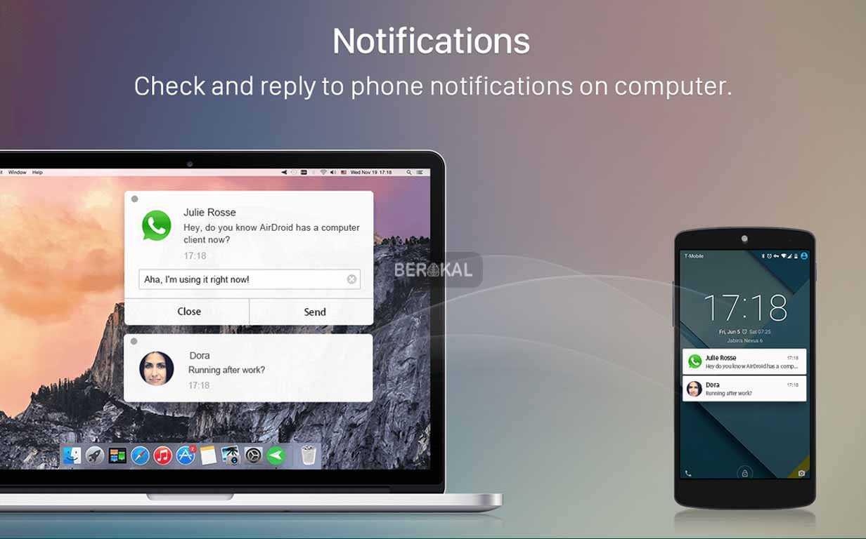 Cara Menyadap WhatsApp dengan AirDroid