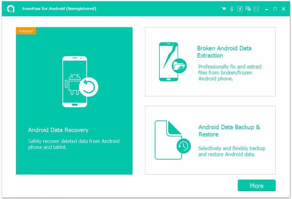 Mengembalikan File Terhapus dengan FonePaw Android Data Recovery