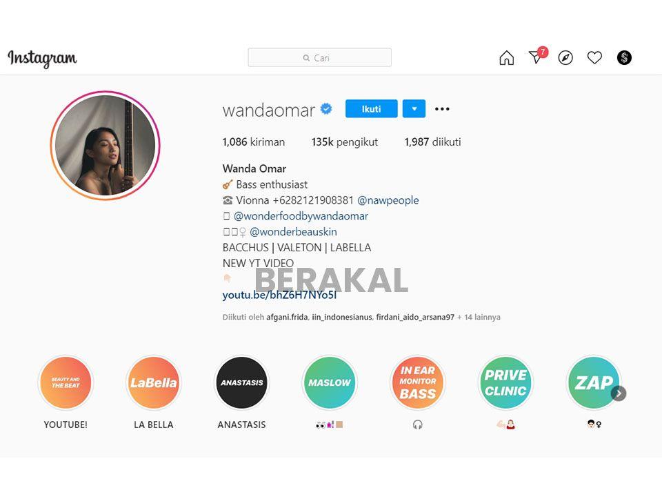 profil instagram menarik