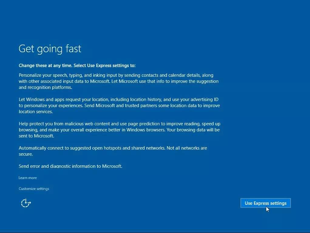 Konfigurasi Windows 10