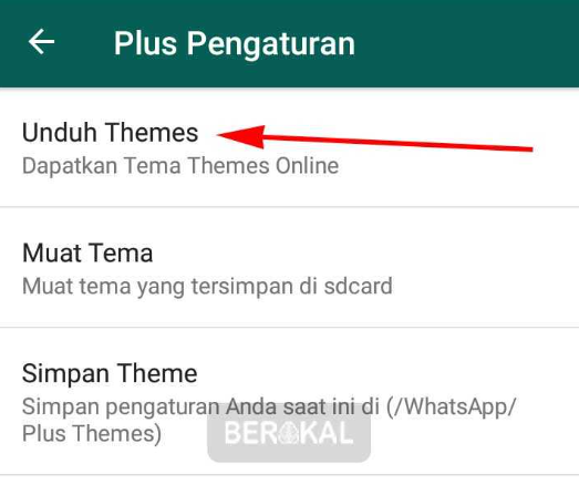 Themes Keren WhatsApp Plus