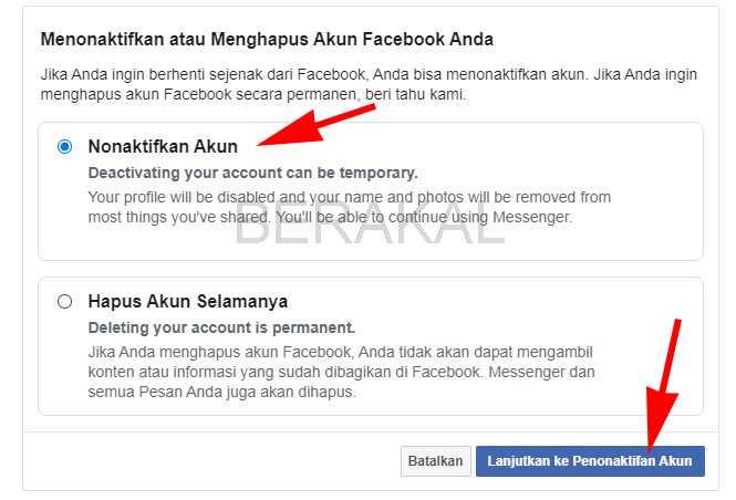 cara blokir facebook yang di hack