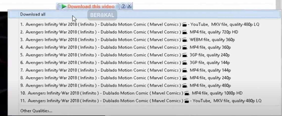 cara download youtube dengan idm