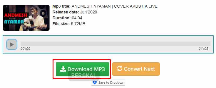 download mp3 dari converterbear
