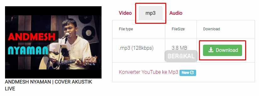download mp3 dari y2mate
