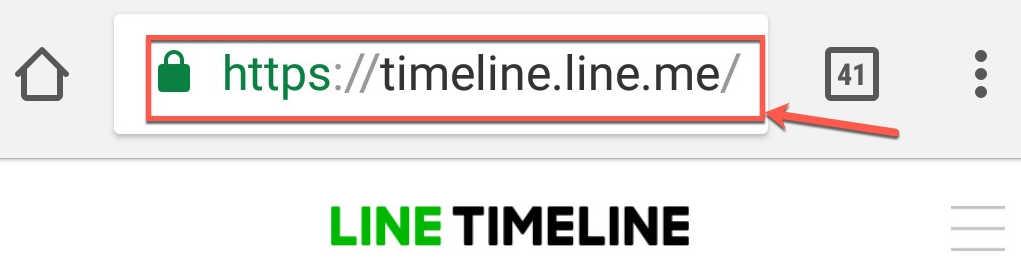 line timeline
