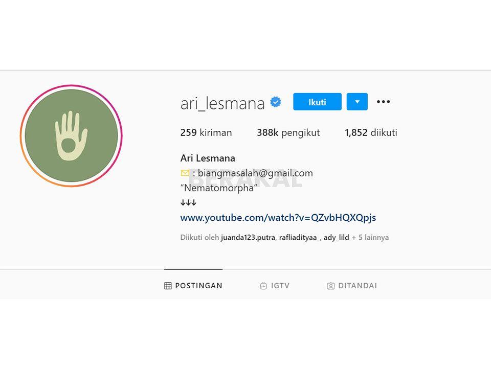 membuat bio instagram keren