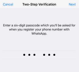 cara kunci whatsapp