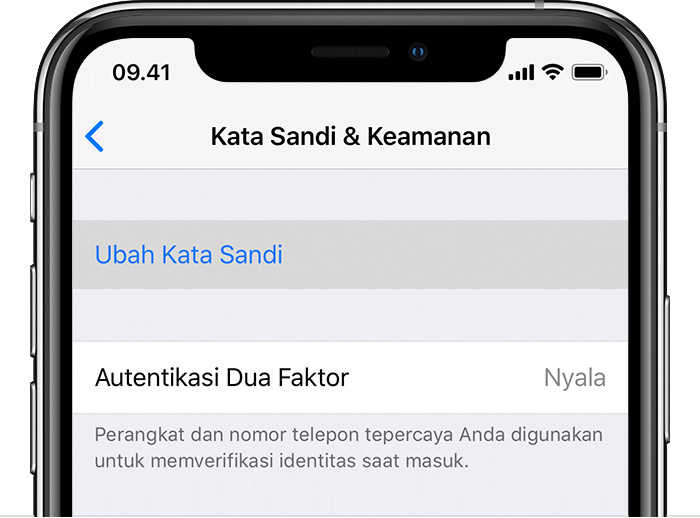 cara membuka ID Apple yang terkunci dan lupa password