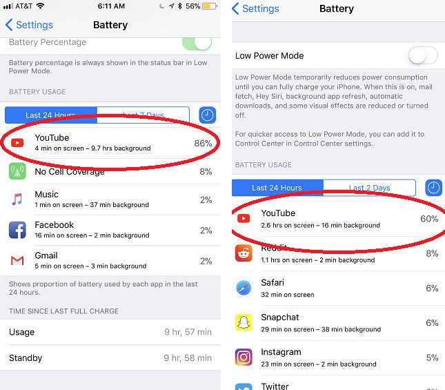 cara menghemat baterai iphone 6