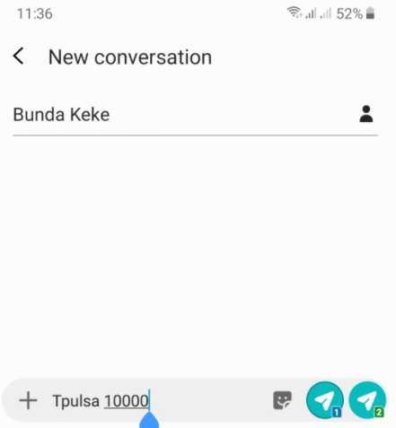 cara transfer pulsa telkomsel via sms