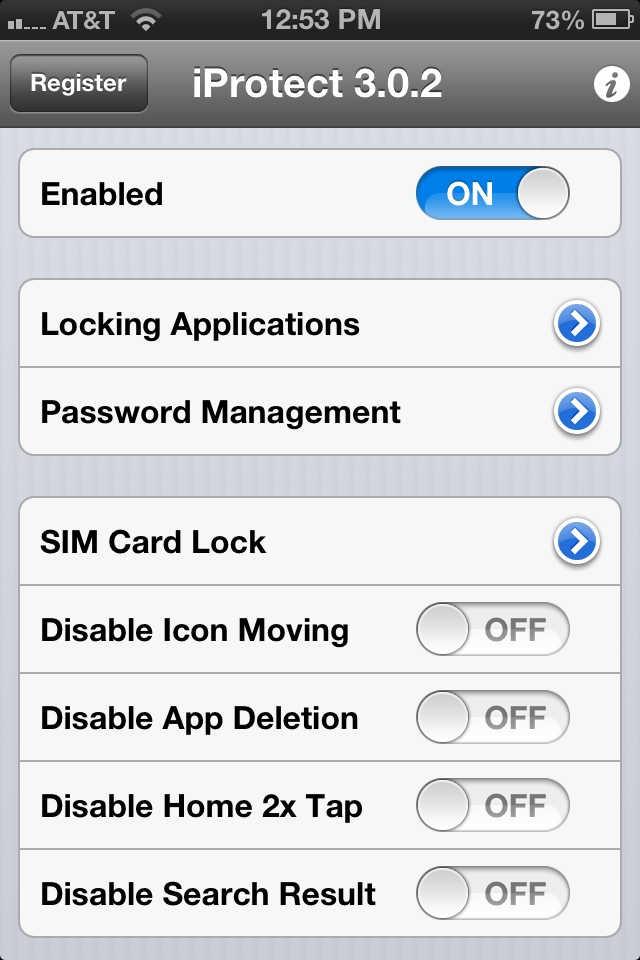 kunci aplikasi iphone 11