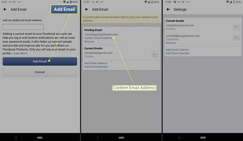 Cara mengganti nomor hp menjadi email di facebook