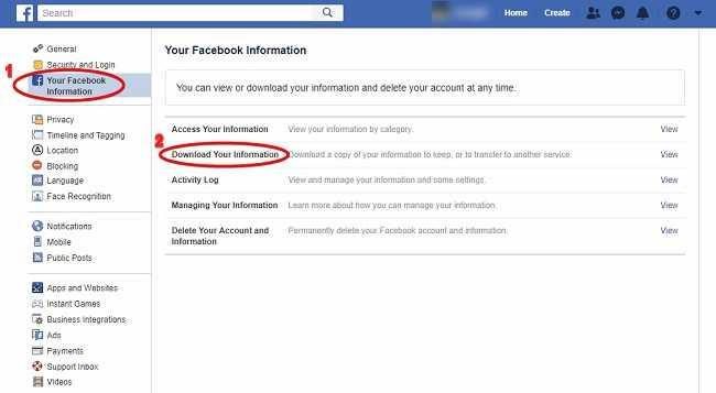 Cara menghapus akun facebook tanpa menunggu 30 hari