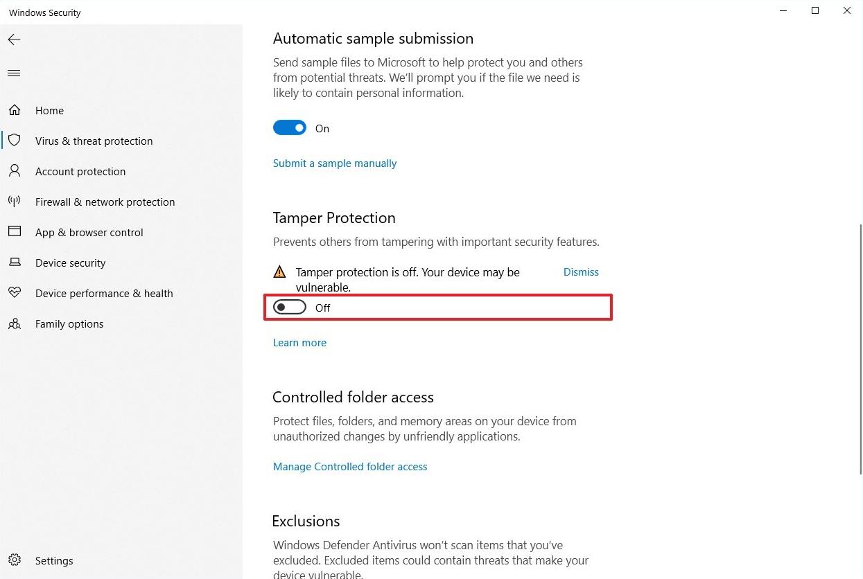 Cara menghilangkan windows defender pada windows 10