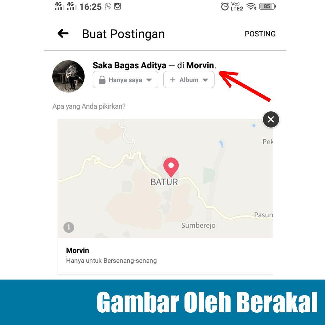 cara membuat lokasi palsu di instagram