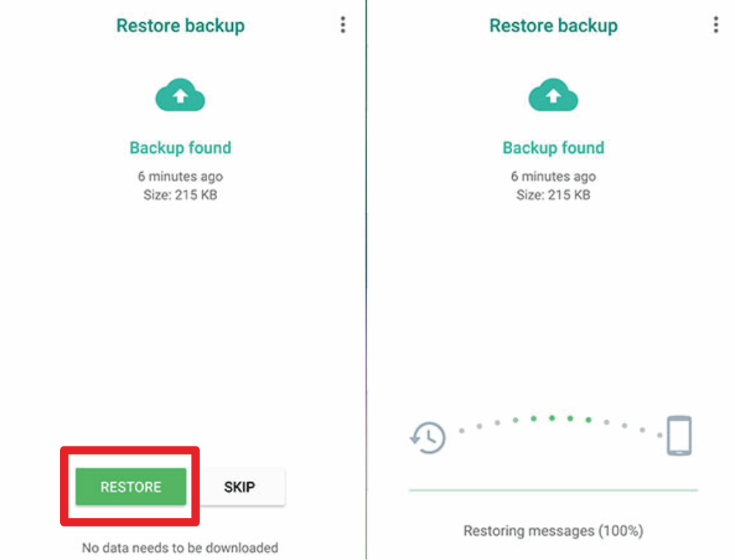 cara mengembalikan file whatsapp yang terhapus di android