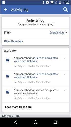 cara menghapus riwayat facebook di google chrome