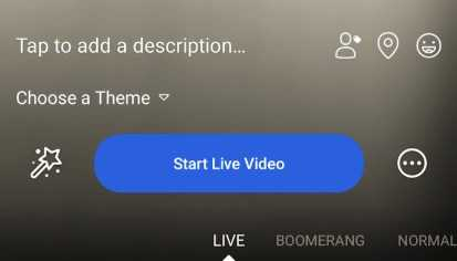 start live video