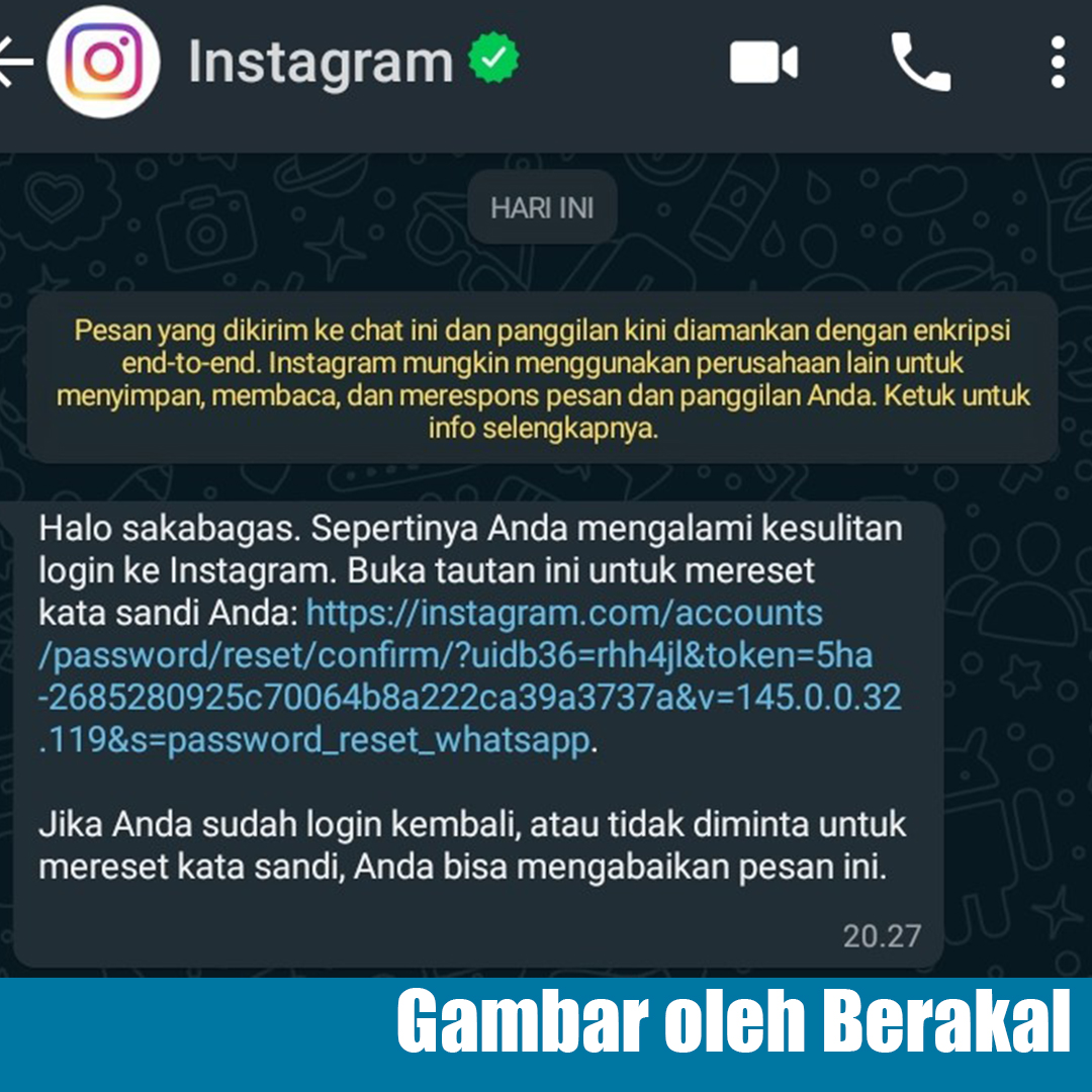 whatsapp konfirmasi