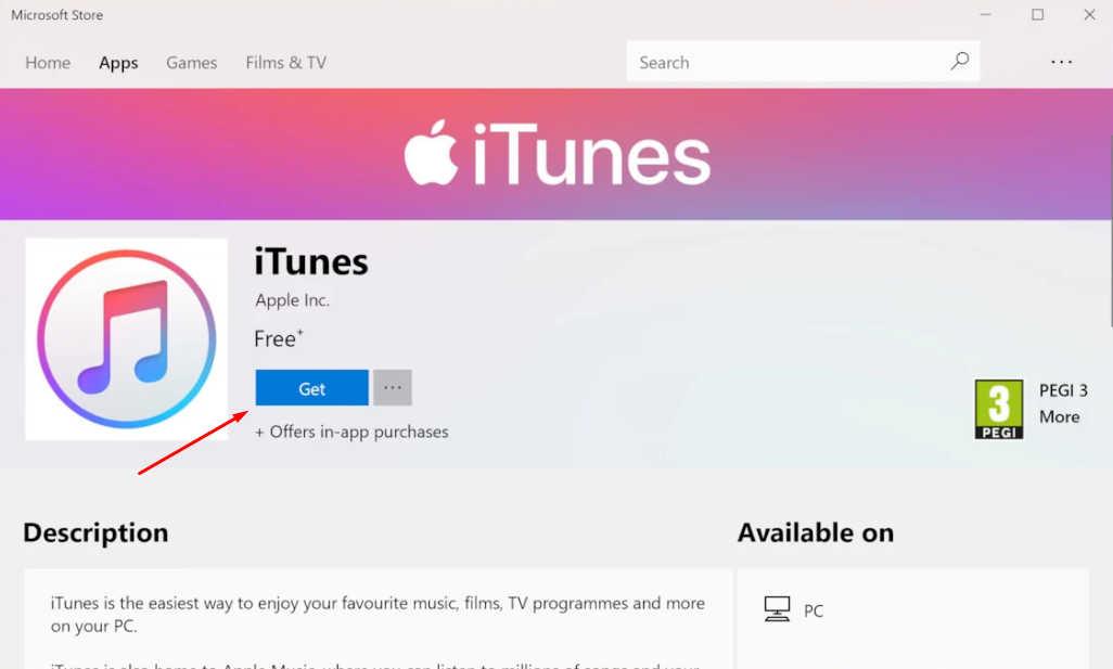 cara download itunes di pc windows