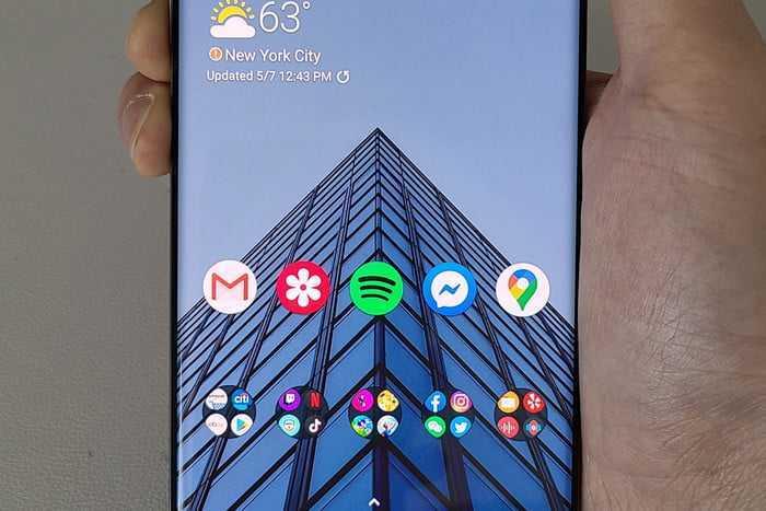 cara screenshot samsung galaxy s20