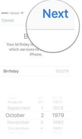 masukkan tanggal lahir