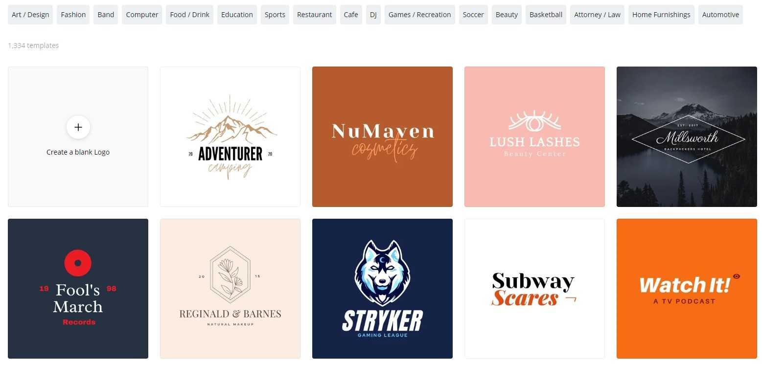 situs pembuat logo online terbaik