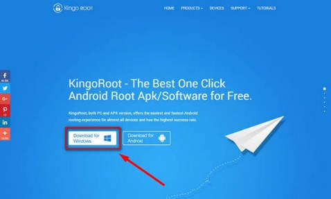 Cara root Android via PC