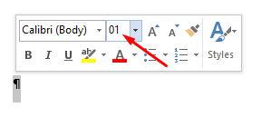 delete paragraf icon word