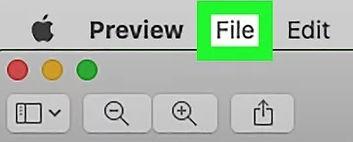 klik menu file