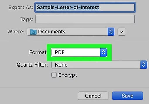 pdf format file