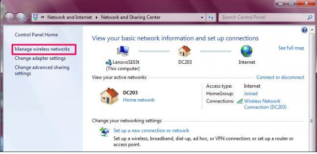Cara Mengetahui password wifi di windows 7