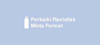 Flashdisk Minta Format