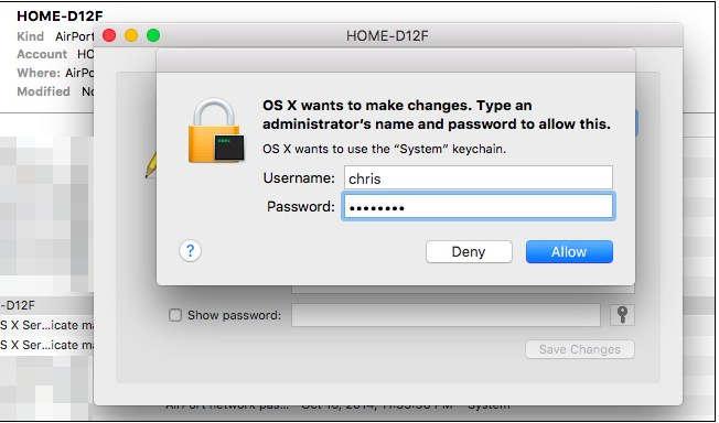 Sign-in Mac Account