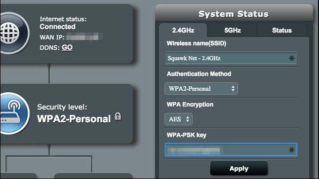 Web Router system