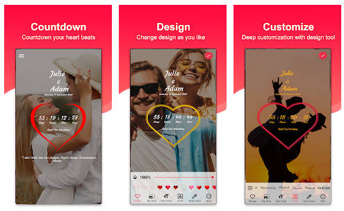 aplikasi countdown pernikahan