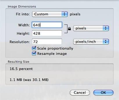 meningkatkan resolusi foto di mac