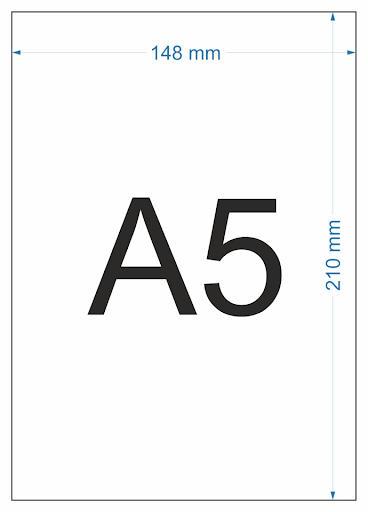 kertas ukuran A5