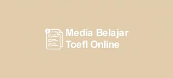 Belajar TOEFL Online