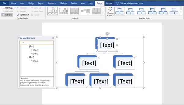 Design Text Microsoft Word