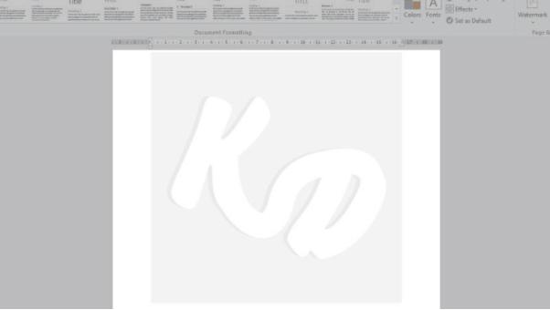 cara membuat watermark di word 2013