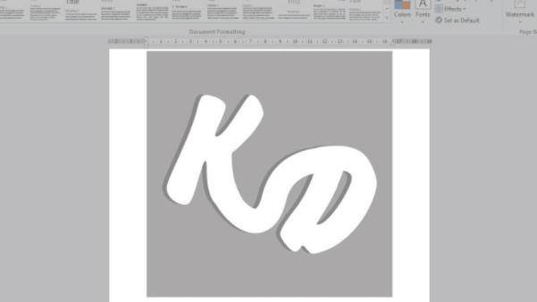 cara membuat watermark di word tidak transparan