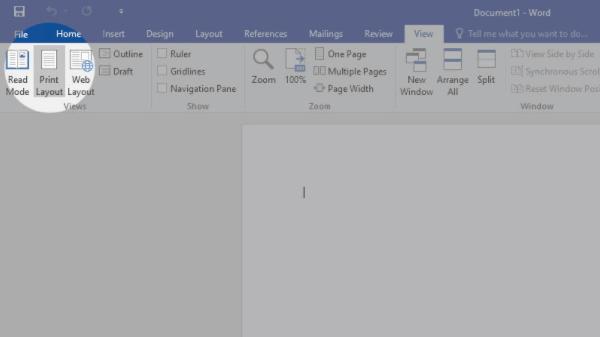 cara menampilkan ruler di ms word