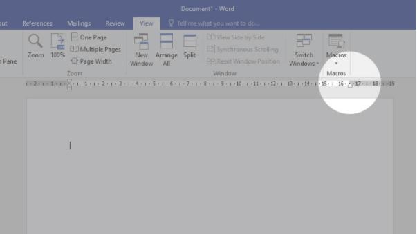 mengatur margin ruler word